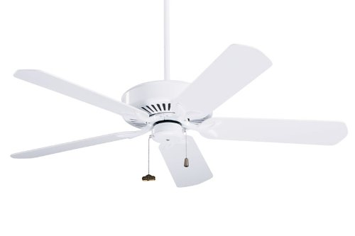 "Emerson Ceiling Fans CF4800WW Premium Fan - White Uplight Indoor Fan 50"" Includes B52WW Blades"