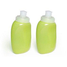 Amphipod 8 oz SnapFlask Bottles (2 pack) YELL