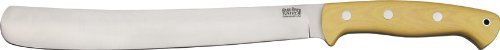 Bark River Knife & Tool 387Mai Golok With Antique Ivory Micarta Handles