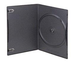 Amazon.com: 25 SUPER SLIM Black Single DVD Cases 5MM: Electronics