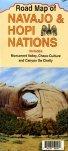 Road Map of Navajo & Hopi Nations by North…