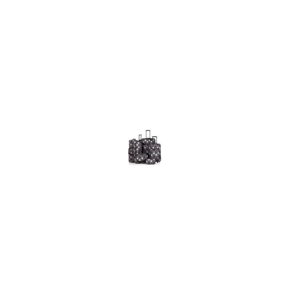 Tag Fairfield 5 Piece Luggage Set Polka Dot
