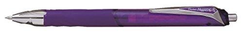 Pentel - Bolígrafo (punta de 0,7 mm, tinta de gel de pigmento), color violeta