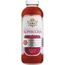 GTs Enlightened Organic Raw Kombucha Botanic No. 7, 16 Ounce — 12 per case.