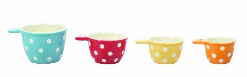 Creative Co-Op Ceramic Measuring Cup Set front-875116