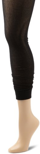Jessica Simpson Women's Slouchy Sheer Capri Cuff Tight Socks