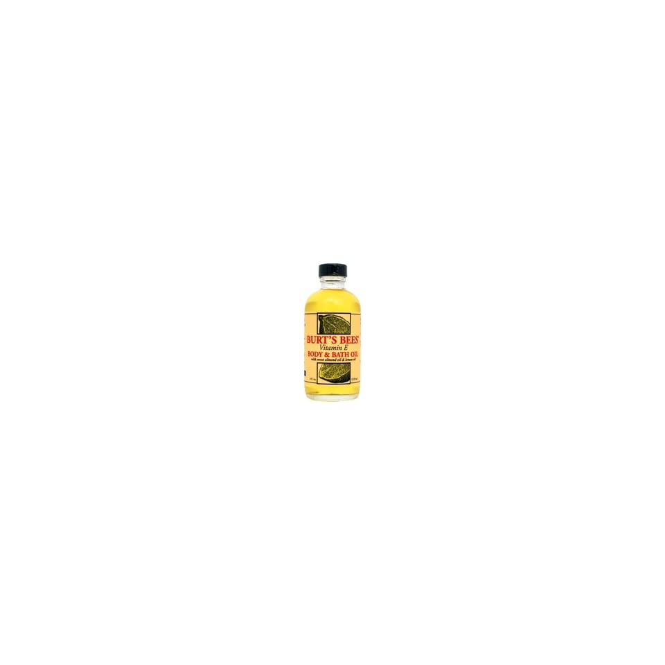 7ef84c4c9 Burts Bees Vitamin E Body   Bath Oil with Sweet Almond Oil   Lemon ...