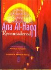 img - for Ana-Al Haqq Reconsidered book / textbook / text book