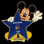 Disney's 100 Years of Dreams Pin #100 Wisconsin