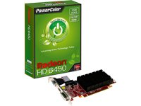 PowerColor PCI-Express Video Card (AX6450 1GBK3-SH)