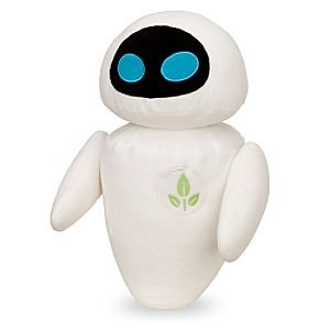 Disney Pixar Wall-e Eve Deluxe Plush!