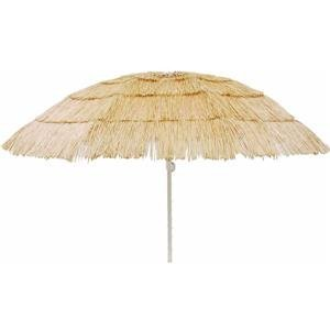 Tiki Umbrella, 6' NATURAL TIKI UMBRELLA