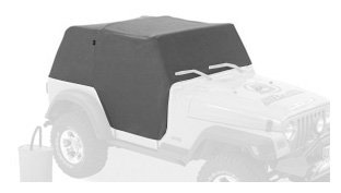 Bestop 81036-09 Charcoal All Weather Trail Cover For 92-95 Wrangler Yj
