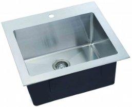 Metal Laundry Sink : Lenova SS-LA-01 Hand Made Stainless Steel Laundry Sink - - Amazon.com