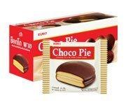 Euro Chocolate Pie with White Cream Center