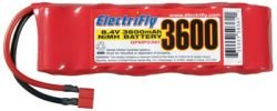 Great Planes ElectriFly NiMH 8.4V 3600mAh Flat Deans Ultra GPMP0361