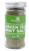 Esutras Organics Salt Green Tea Mint -- 5 Oz