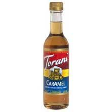 Torani Caramel Coffee Syrup Mix, 12.5 Ounce -- 6 per case.