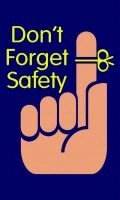 DON'T FORGET SAFETY 3' x 5' Message Floor Mat