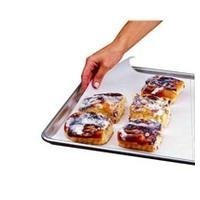 "BAKERS' & CHEFS' SECRET GENUINE VEGETABLE PARCHMENT RE-USEABLE PAN LINERS 16""X24"" PREMIUM SILICONE #27"
