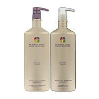 Pureology Nanoworks Shampoo & Conditioner Liter, 33.8 oz. each, Free Pumps