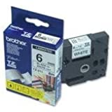 Brother TZE211 - Laminated adhesive tape - black on white - Roll (0.6 cm x 8 m) - 1 roll(s)
