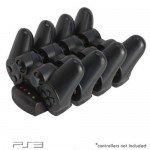 PlayStation3 Quad Port Drop-in USB Charging Dock for PlayStation3 Handsets w/ LED Status Indicators