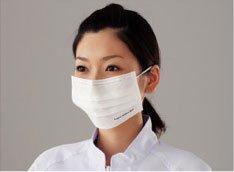 ダチョウ卵黄抗体マスク サージカルタイプ 【1箱(50枚入)】 ≪鳥インフルエンザ対策≫