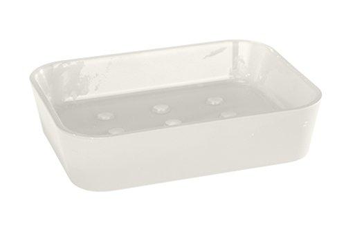 Wenko rainbow white 18977100 porta saponette in plastica - Wenko accessori bagno ...