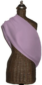 Mamma's Milk Princess Pink INVISIBLY ADJUSTABLE Baby Sling