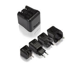 Targus APA721AP-50  Dual-USB World Ultramini Charger (Black)