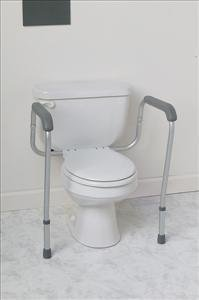 Commode Accessories - Toilet Safety Rails, Foldable, 250 Lb. Weight Capacity - 1 Pair - Model Mds86100Rf Personal Healthcare / Health Care front-343143