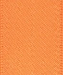 ORANGE DOUBLE SIDED SATIN RIBBON - 23MM X 25Mt FROM CLUB GREEN