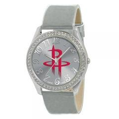 Ladies Houston Rockets NBA Glitz Silver Watch Sports Fashion Jewelry by NBA