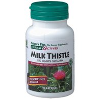 Milk Thistle Extract 250Mg Nature'S Plus 60 Caps