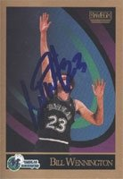 Bill Wennington Dallas Mavericks 1990 Skybox Autographed Hand Signed Trading Card -... by Hall+of+Fame+Memorabilia