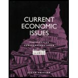 Current Economic Issues