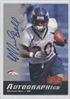Mike Bell Denver Broncos (Football Card) 2006 Flair Showcase [???] #Au-Mb