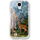 Bambi Samsung Galaxy S4 caso case,Disney Bambi Samsung Galaxy S4 bianca caso case [Scratch proof] [Drop Protection]