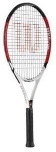 Wilson Roger Federer 27, BESAITET Tennisschläger für Kinder