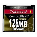 Transcend TS128MCF100I Compact Flash Industrial 128 MB Compact Flash Card
