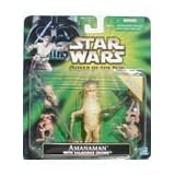 Star Wars Power Of The Jed Amanaman With Salacious Crumb Action Figure Set