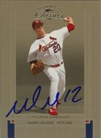 Mark Mulder St. Louis Cardinals 2005 Donruss Classics Autographed Hand Signed Trading... by Hall of Fame Memorabilia