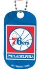 PHILADELPHIA 76ers NBA DOG Tag (1 count) at Amazon.com