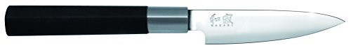Kai Wasabi Black Paring Knife, 4-Inch