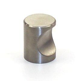 Möbelknopf, Türknopf Edelstahl matt 12mm