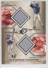 Juan Gonzalez/Ivan Rodriguez Juan A. Gonzalez, Texas Rangers (Baseball Card) 2002 SPx Winning Materials 2-Player Jersey Combos #WMGR at Amazon.com