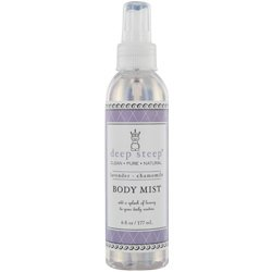 DEEP STEEP by Deep Steep LAVENDER-CHAMOMILE BODY MIST 6 OZ