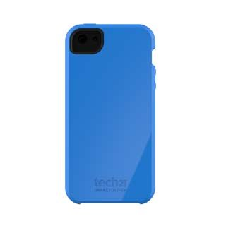 Special Sale TECH 21 D30 Impact Shell Snap On Skin Case Cover for Apple iPhone 5 - Blue