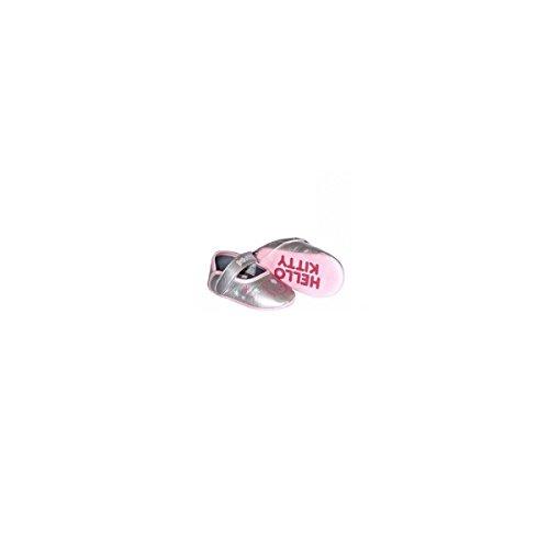 Ballerine Hello Kitty, colore: argento, Grigio (grigio), 20
